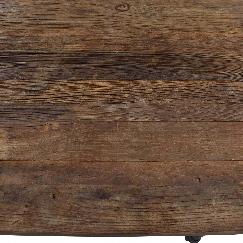 Restoration Hardware Restoration Hardware Flatiron Rectangular Dining Table ct