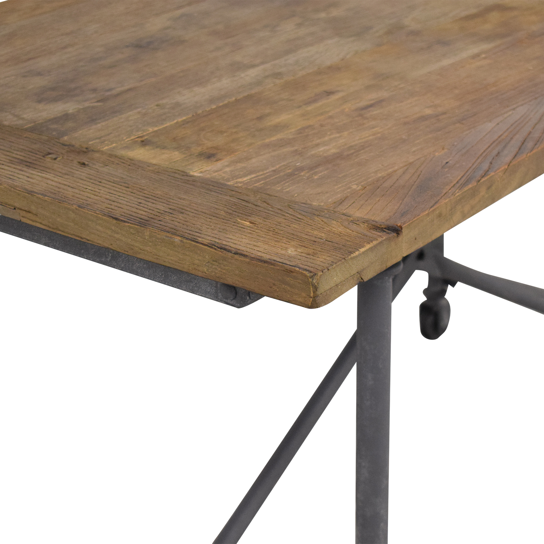 buy Restoration Hardware Flatiron Rectangular Dining Table Restoration Hardware