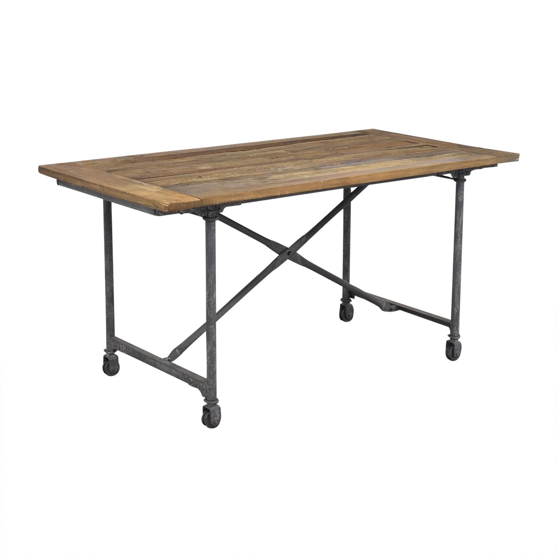 Restoration Hardware Restoration Hardware Flatiron Rectangular Dining Table nyc