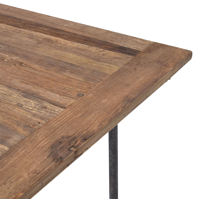 Restoration Hardware Restoration Hardware Flatiron Rectangular Dining Table discount