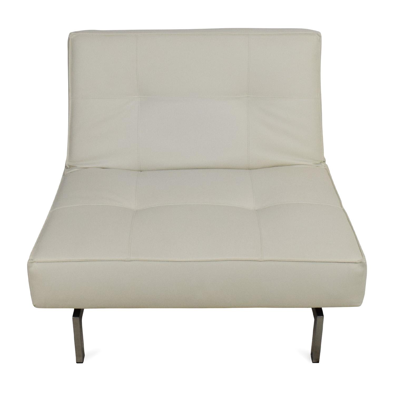 Innovation Innovation Split Back Leather Chair dimensions