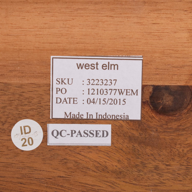 West Elm West Elm Rustic Bar Stools nj