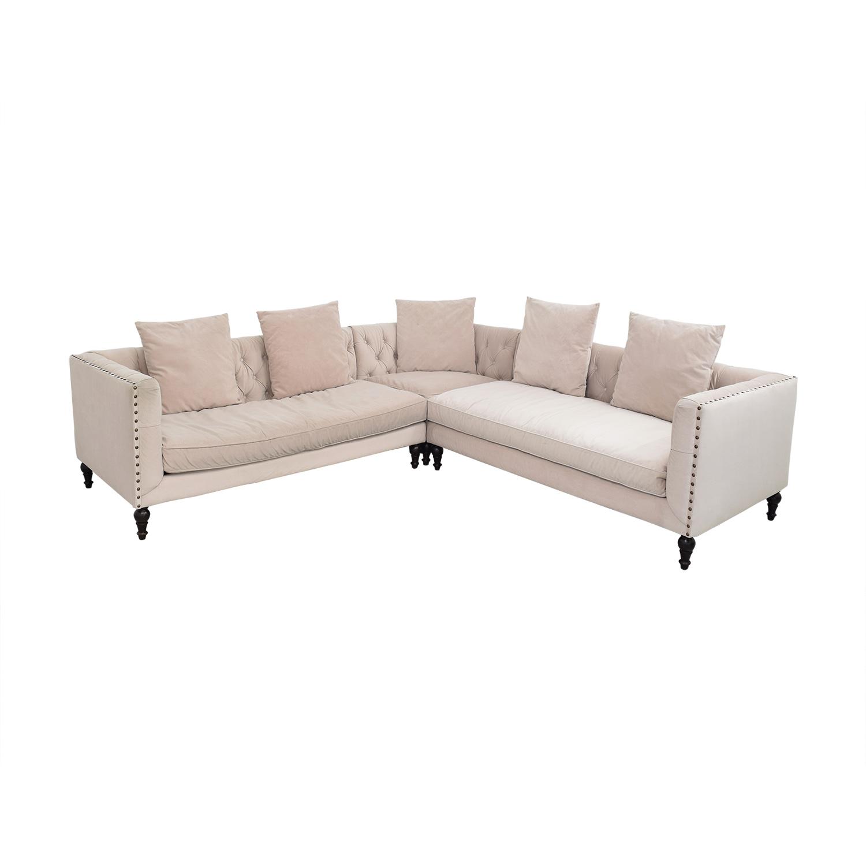 Z Gallerie Z Gallerie Roberto Sectional Sofa