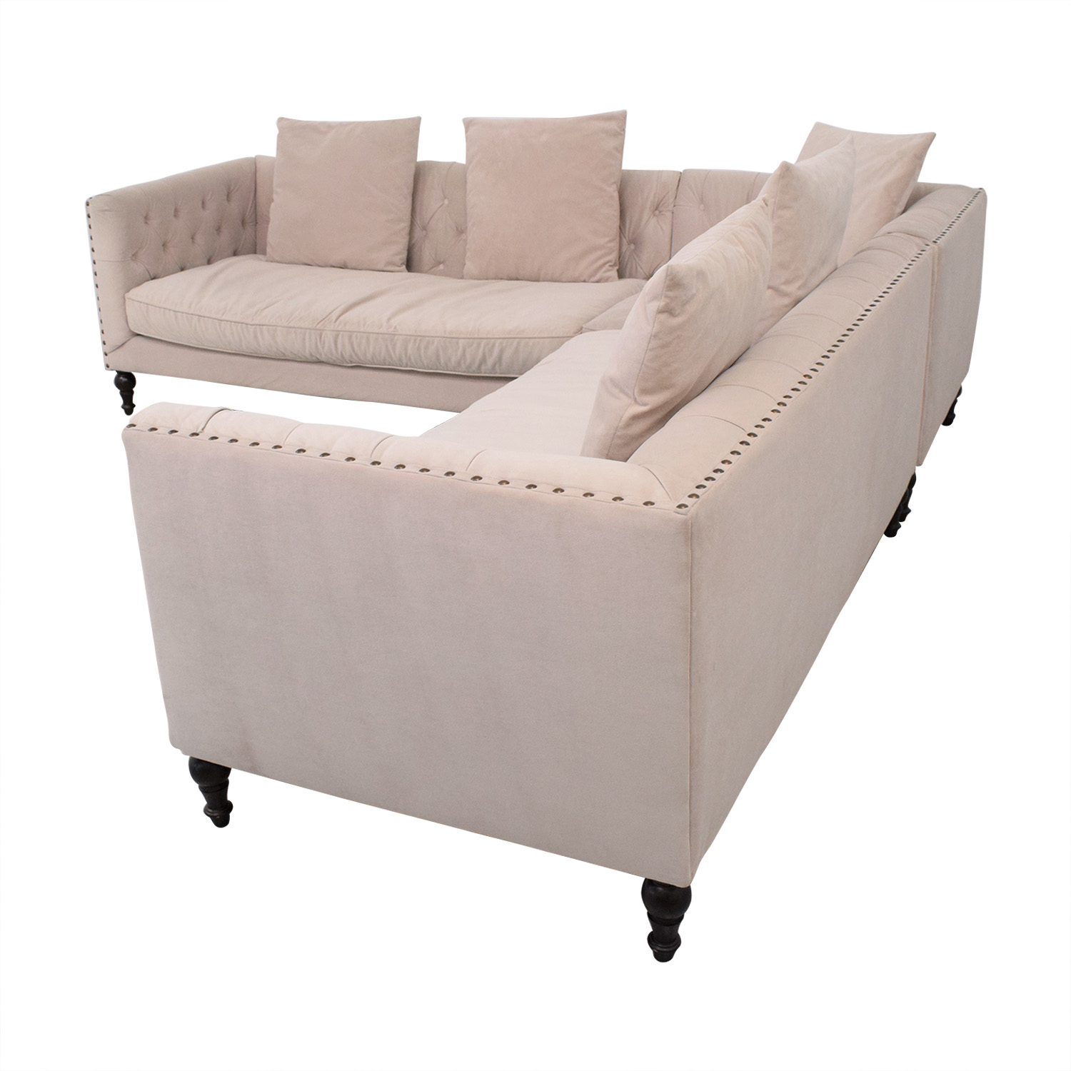 Z Gallerie Z Gallerie Roberto Sectional Sofa Sectionals