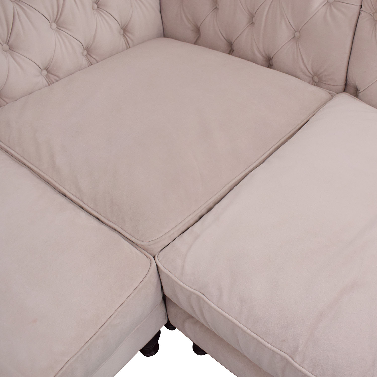 Z Gallerie Z Gallerie Roberto Sectional Sofa second hand