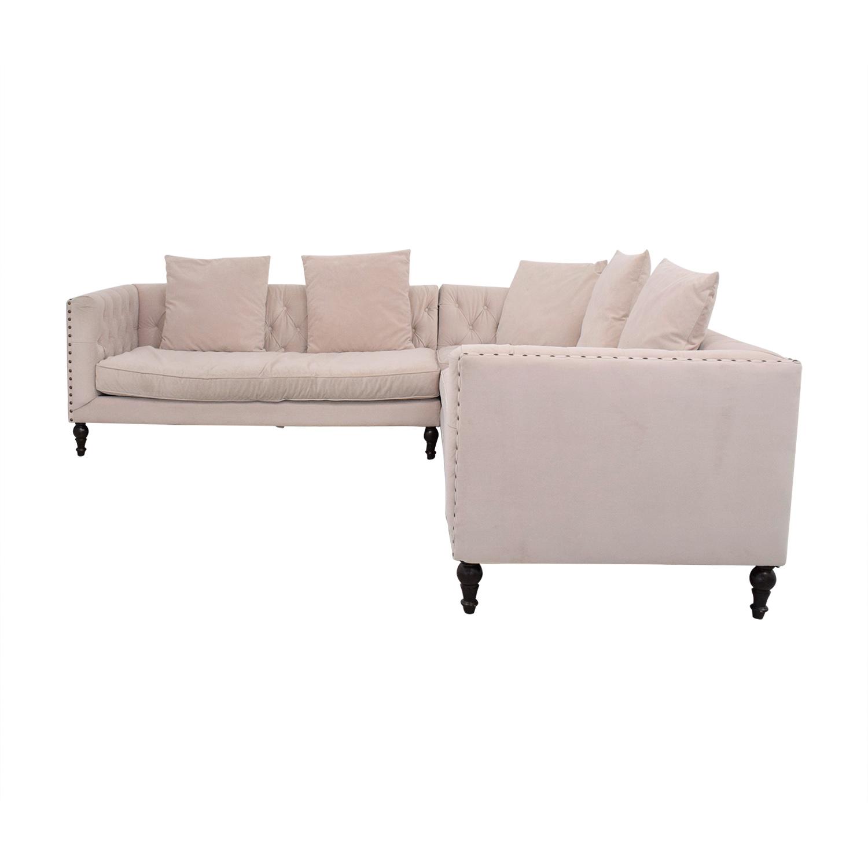 Z Gallerie Z Gallerie Roberto Sectional Sofa Sofas