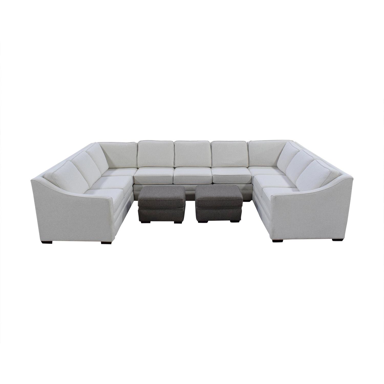 England Furniture England Furniture U Shaped Sectional Sofa coupon