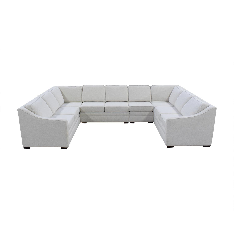 England Furniture England Furniture U Shaped Sectional Sofa dimensions