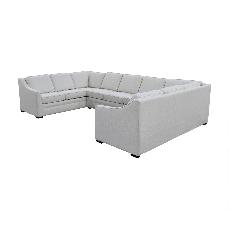 England Furniture England Furniture U Shaped Sectional Sofa ct