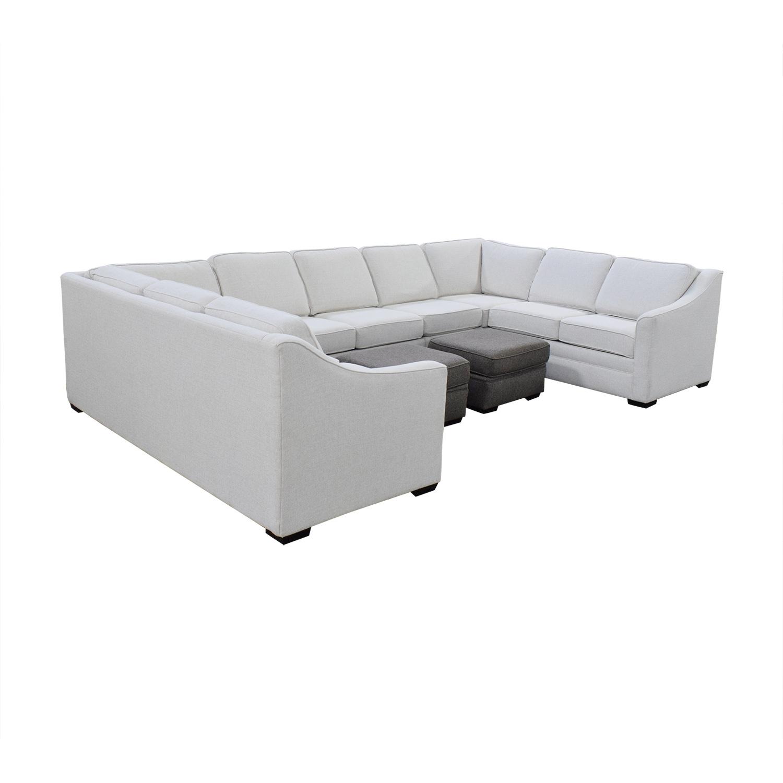 England Furniture England Furniture U Shaped Sectional Sofa used