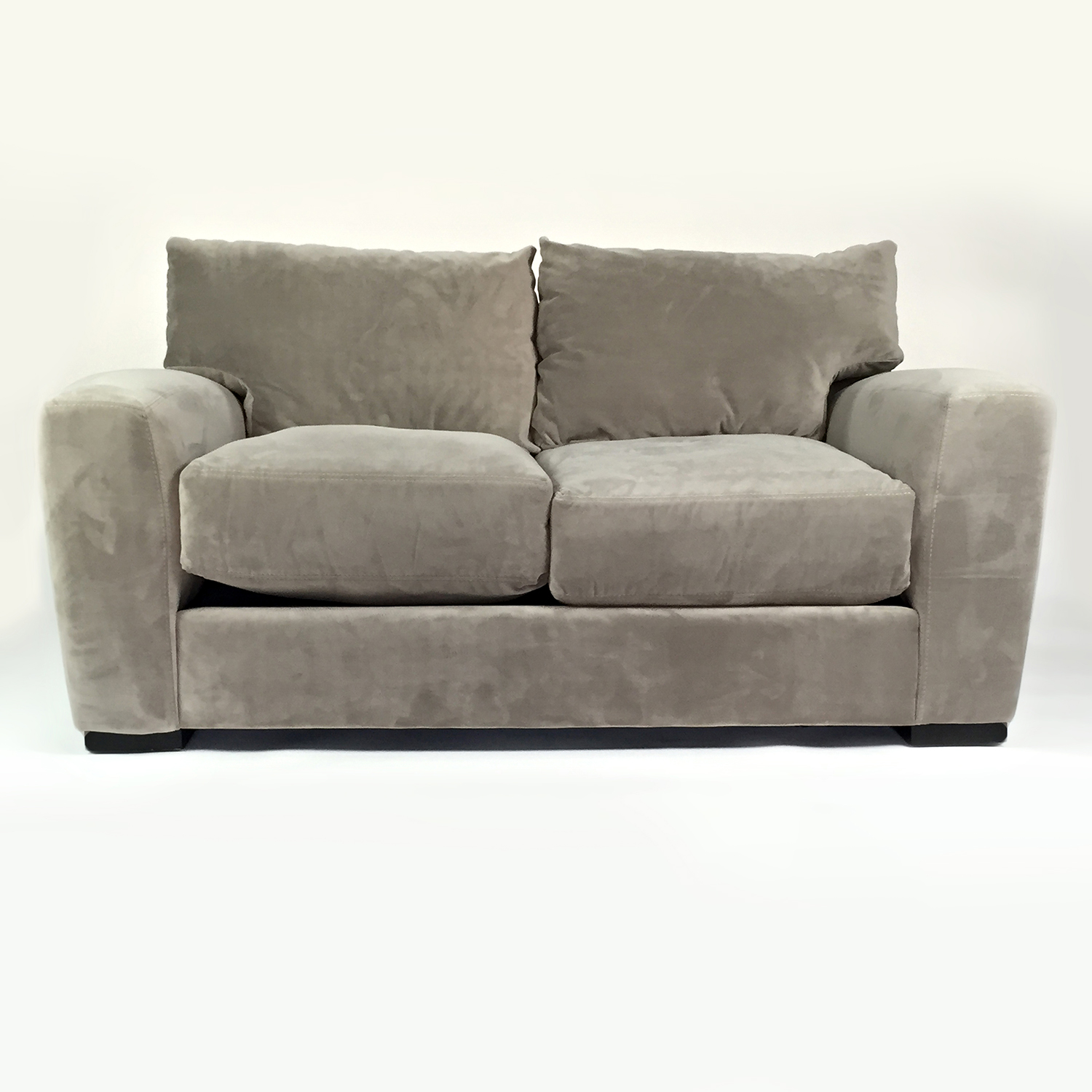 Raymour & Flanigan Raymour & Flanigan Microfiber Loveseat for sale