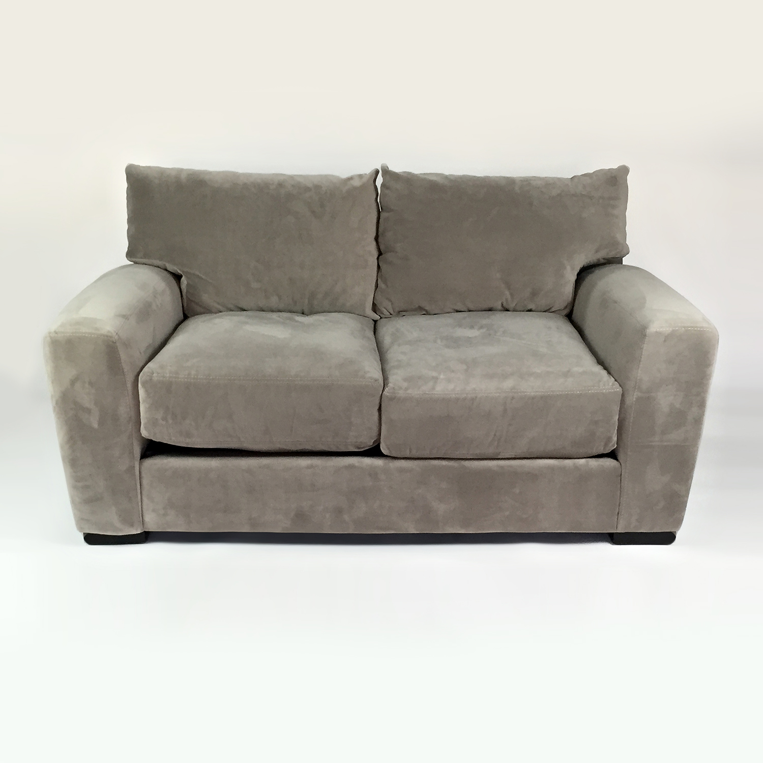 buy Raymour & Flanigan Microfiber Loveseat Raymour & Flanigan