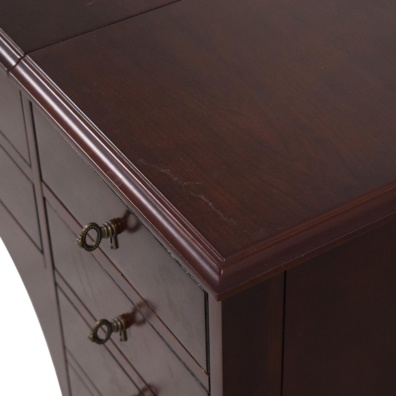 Bombay Company Bombay Company Vanity Table with Fold Down Mirror nj
