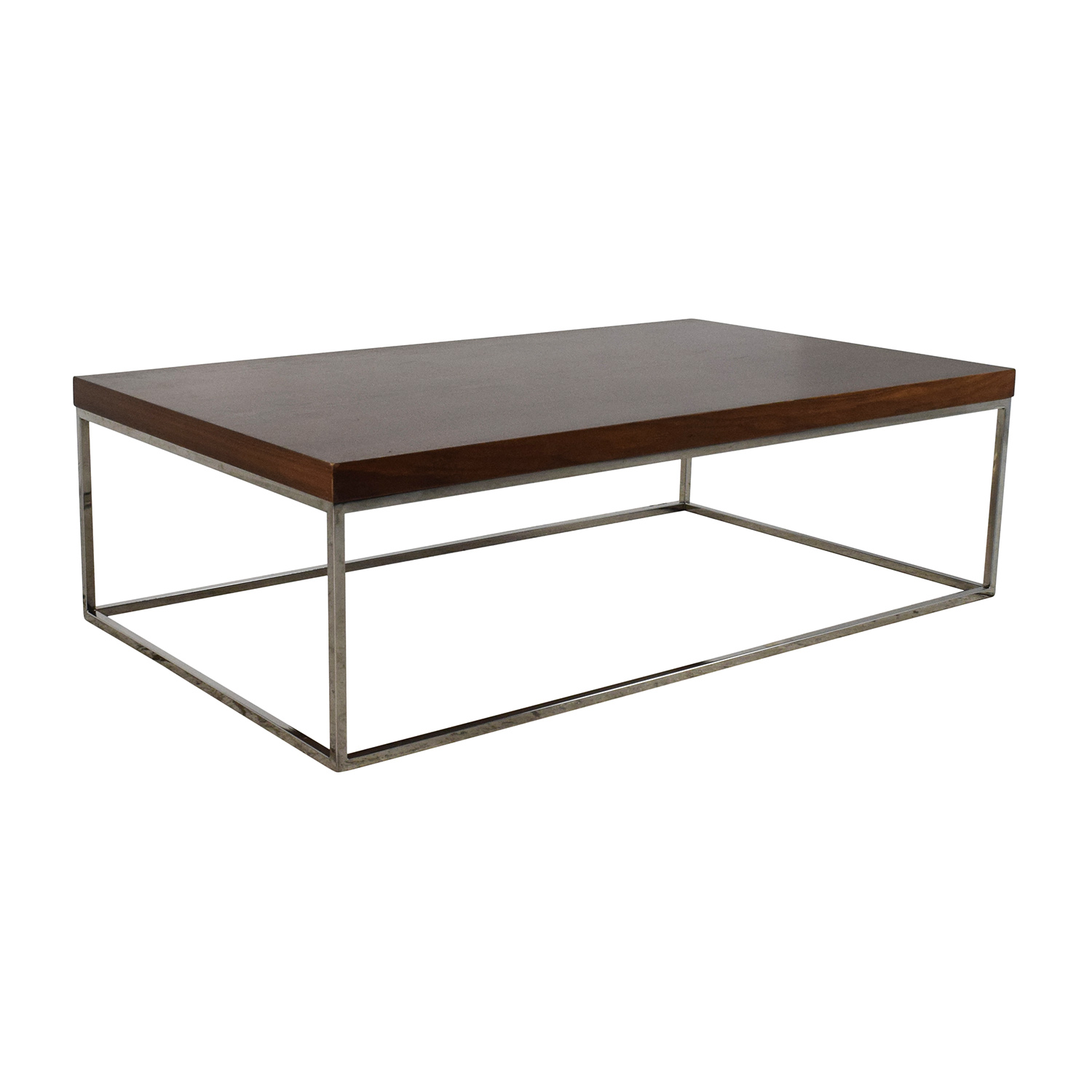 80% OFF West Elm West Elm Copenhagen Coffee Table Tables