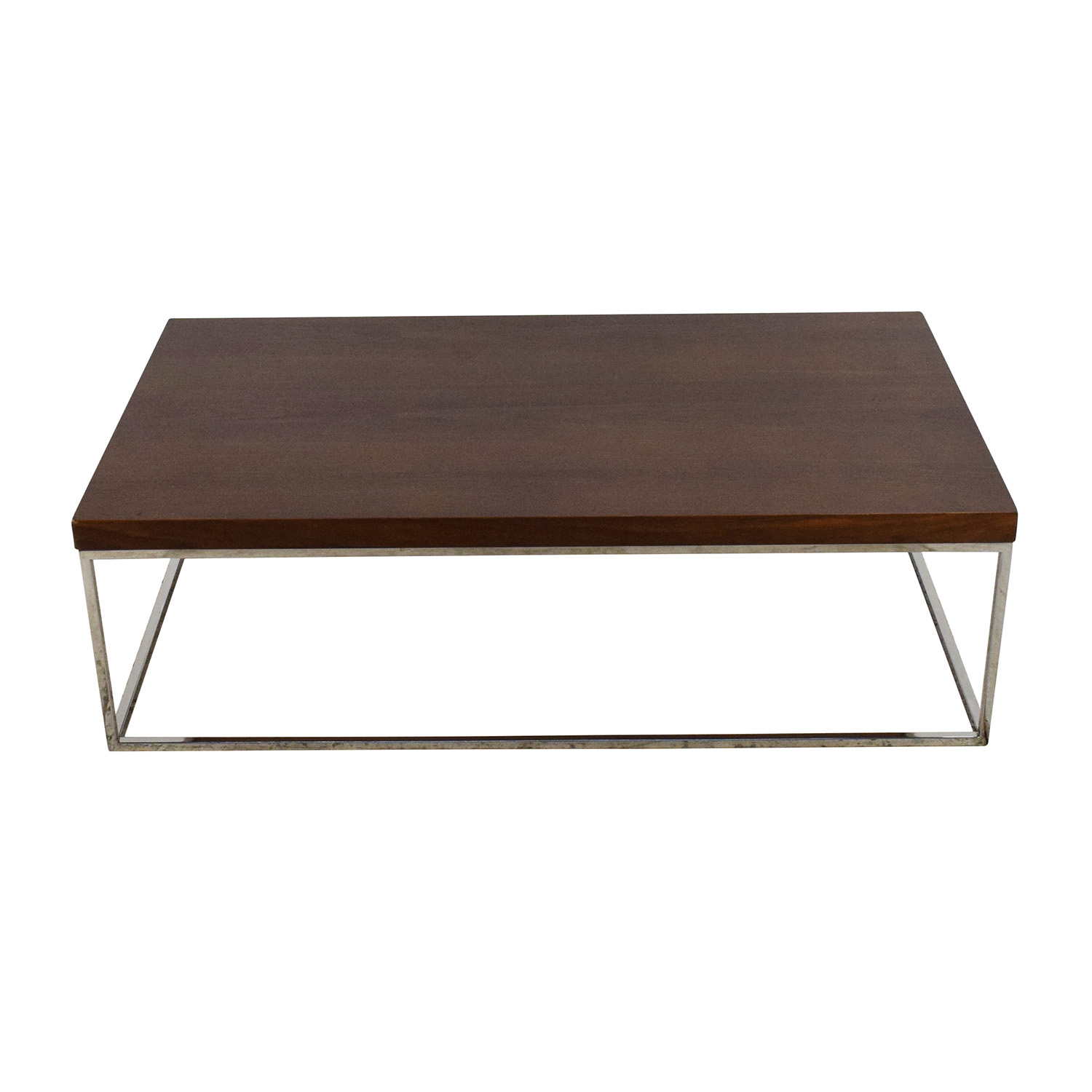63% OFF Macy s Macy s Modern Rolling Round Coffee Table Tables