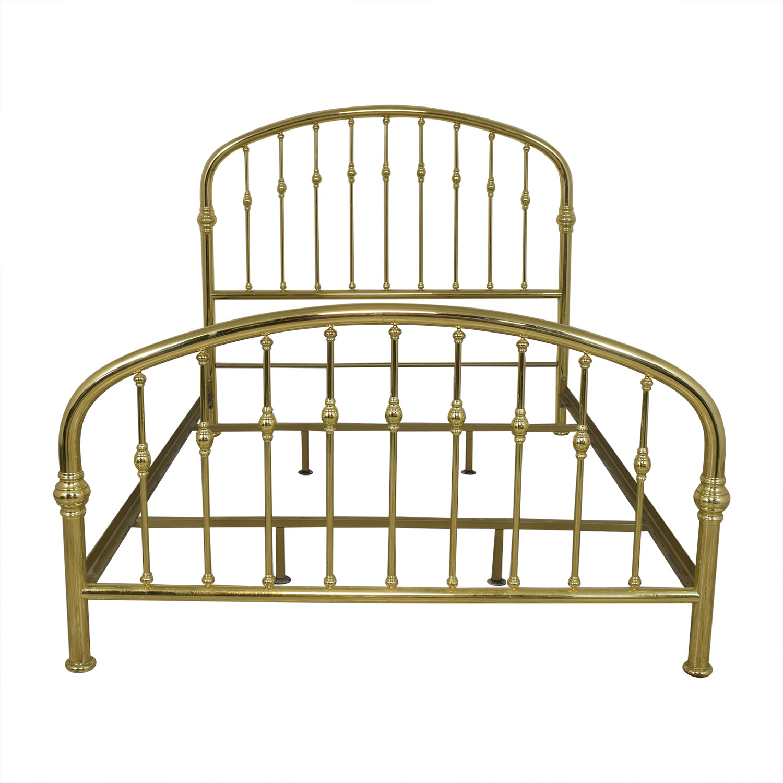 Ethan Allen Ethan Allen Queen Brass Bed