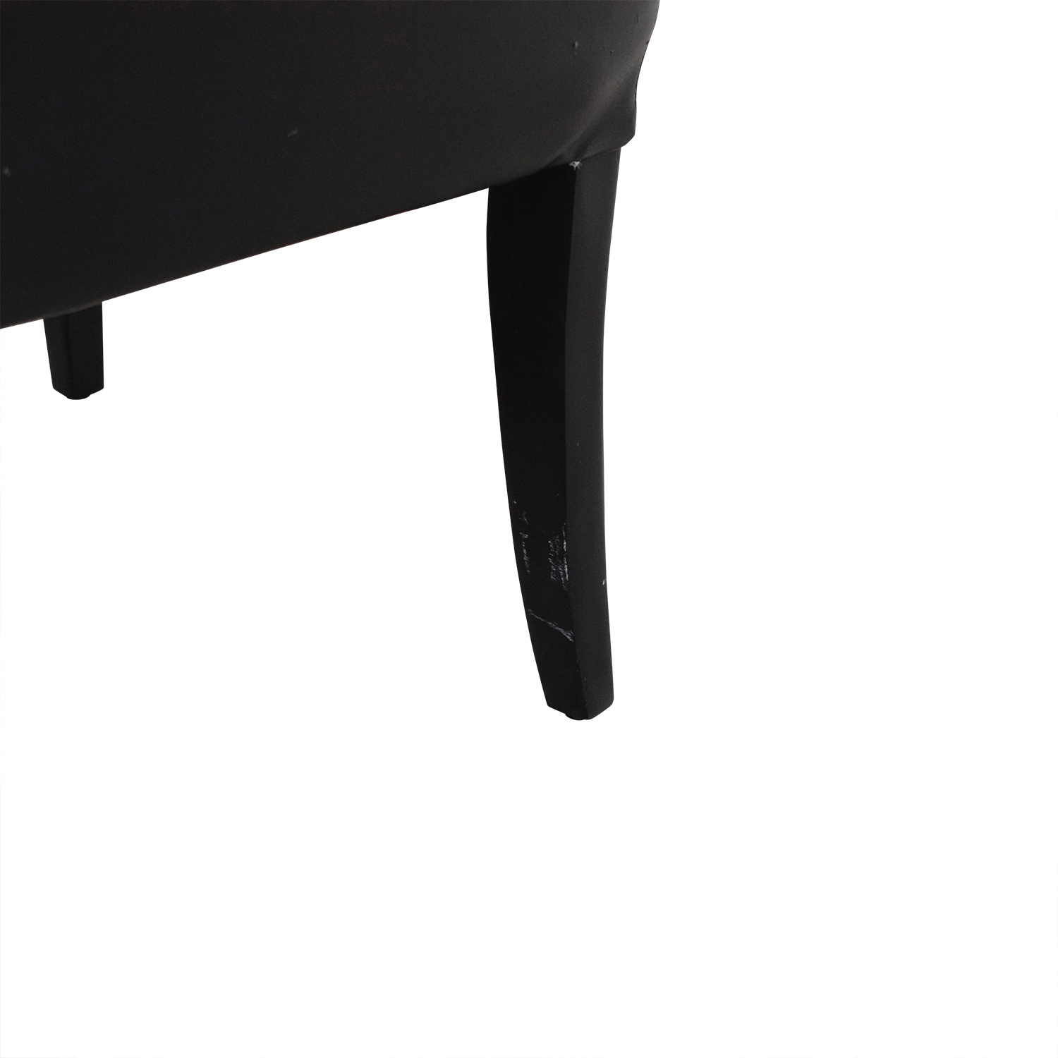Classic Style High Back Dining Chairs black