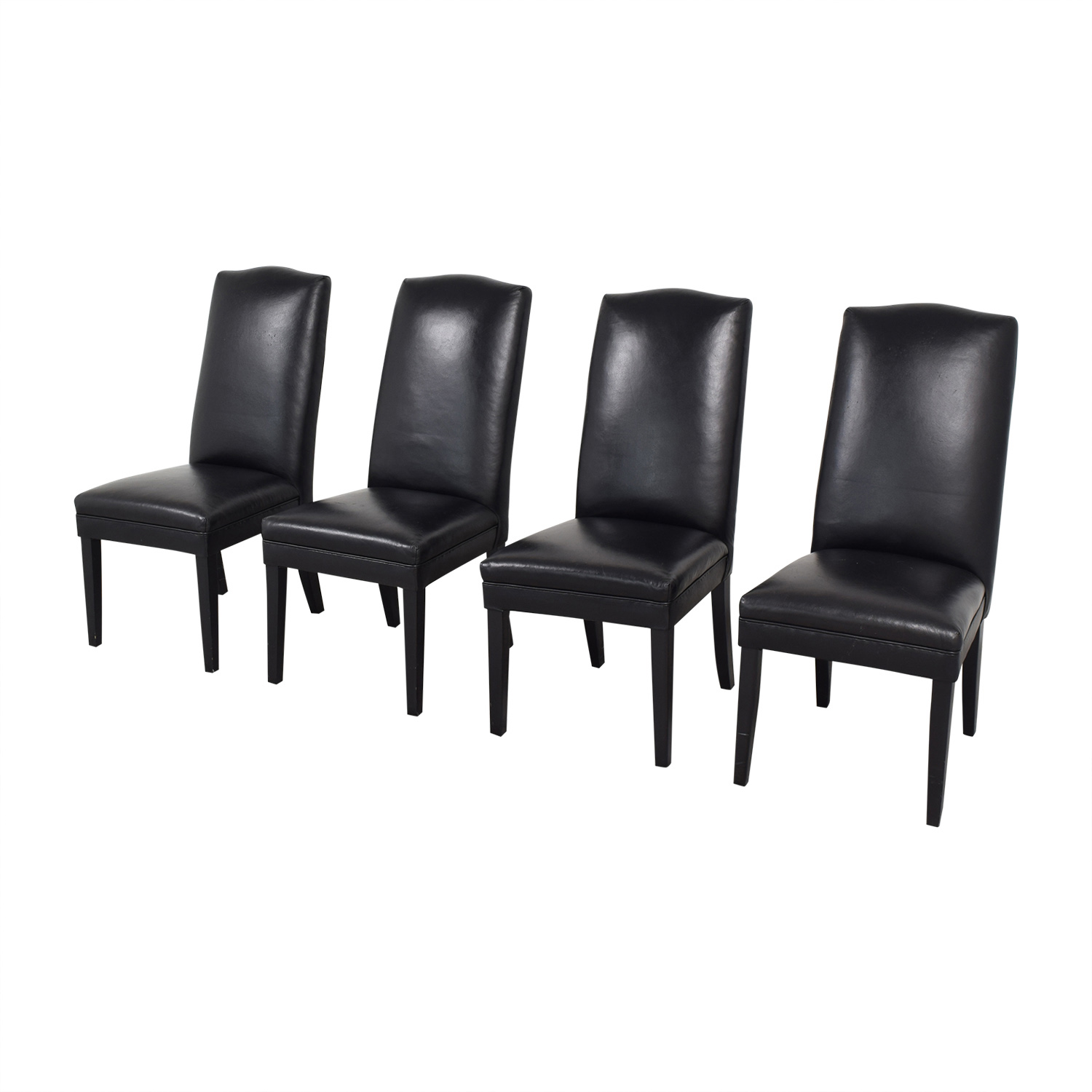 Classic Style High Back Dining Chairs / Dining Chairs