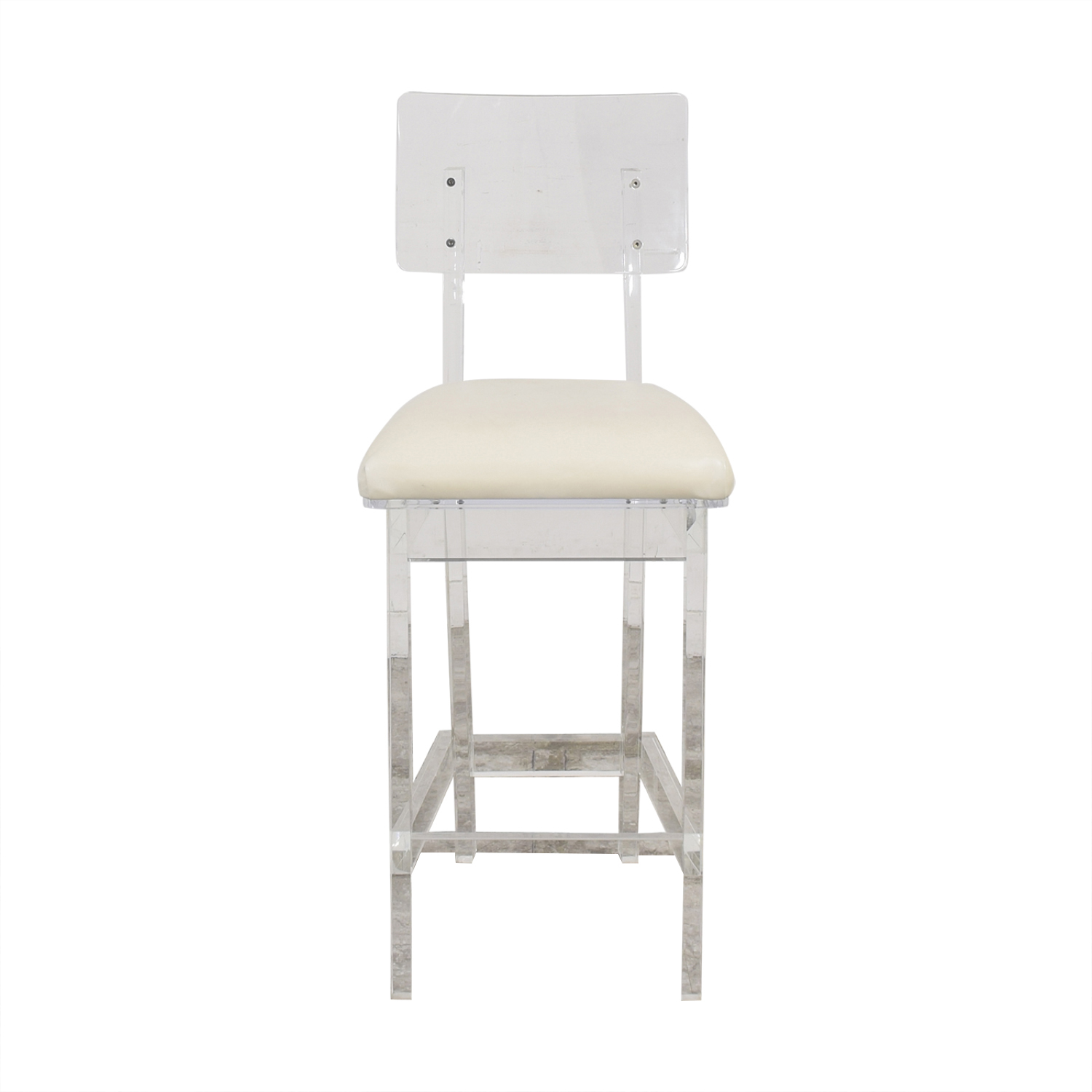 Plexi-Craft Plexi-Craft King George Bar Stool ma
