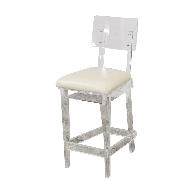 Plexi-Craft Plexi-Craft King George Bar Stool price