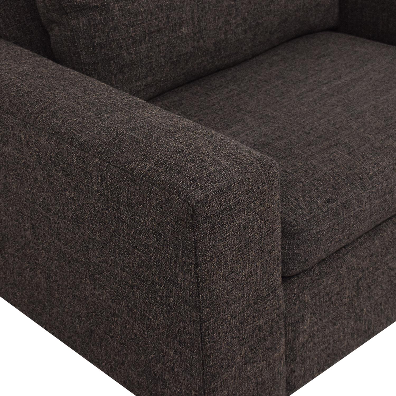 Room & Board Room & Board Harding Chair dark grey