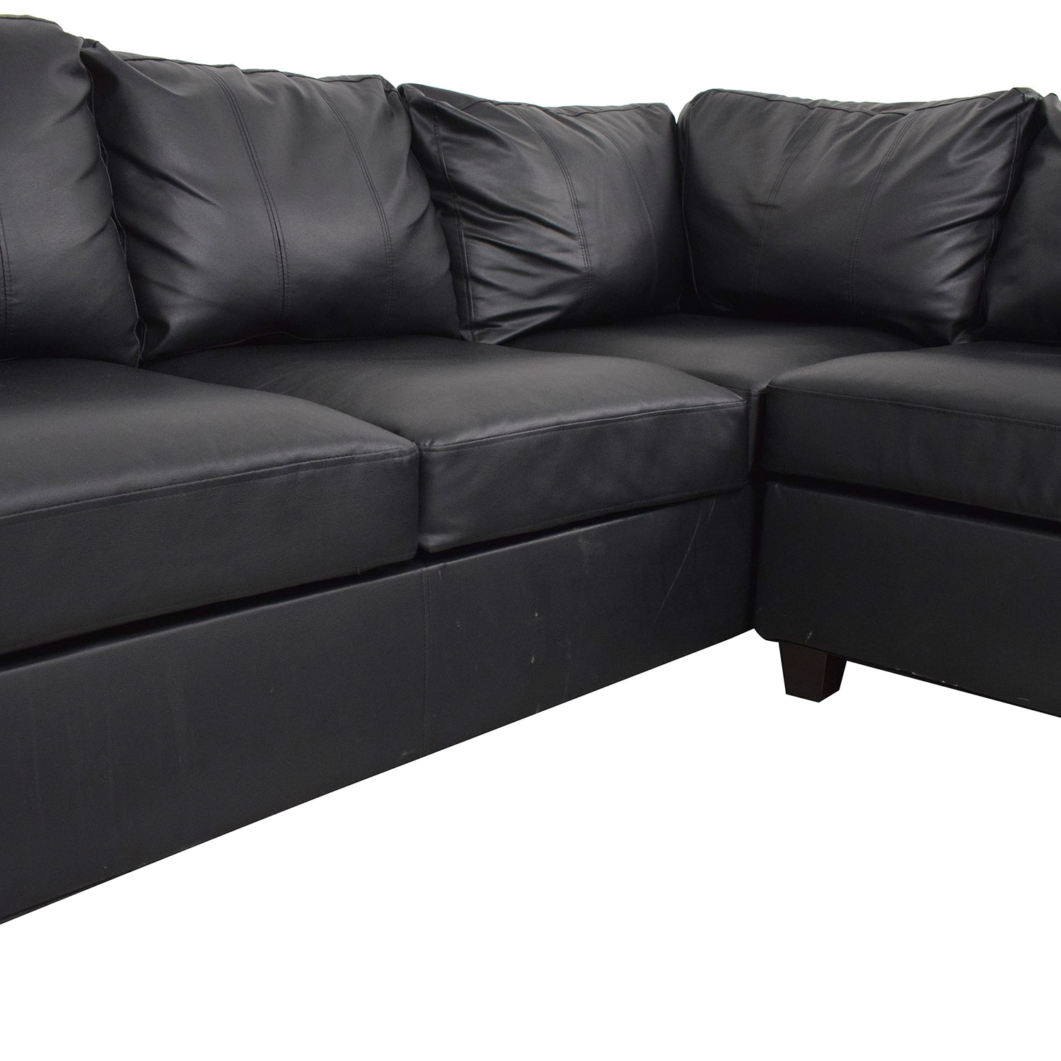 Poundex Poundex Bobkona Cady Reversible Sectional Sofa Sectionals