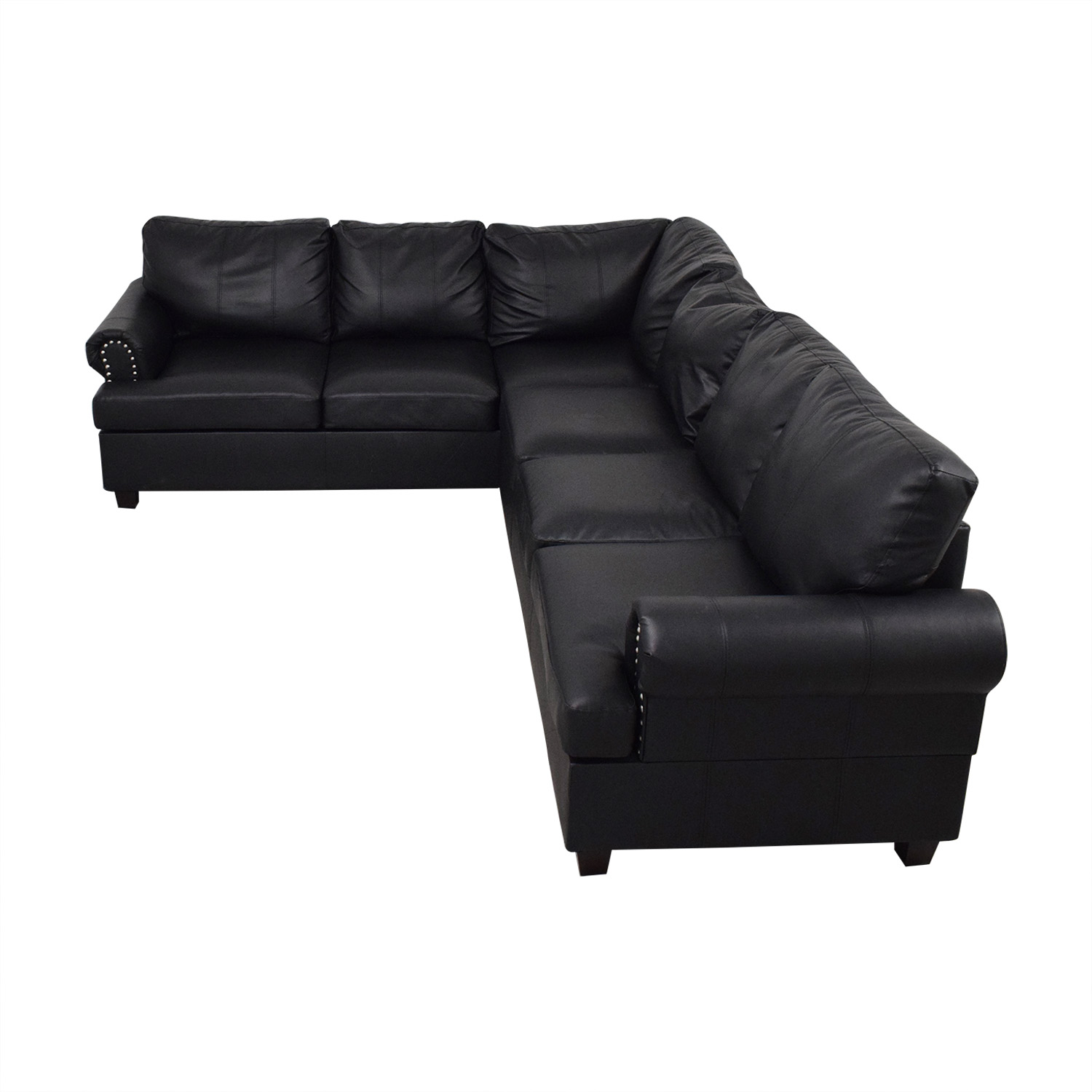 Poundex Poundex Bobkona Cady Reversible Sectional Sofa for sale