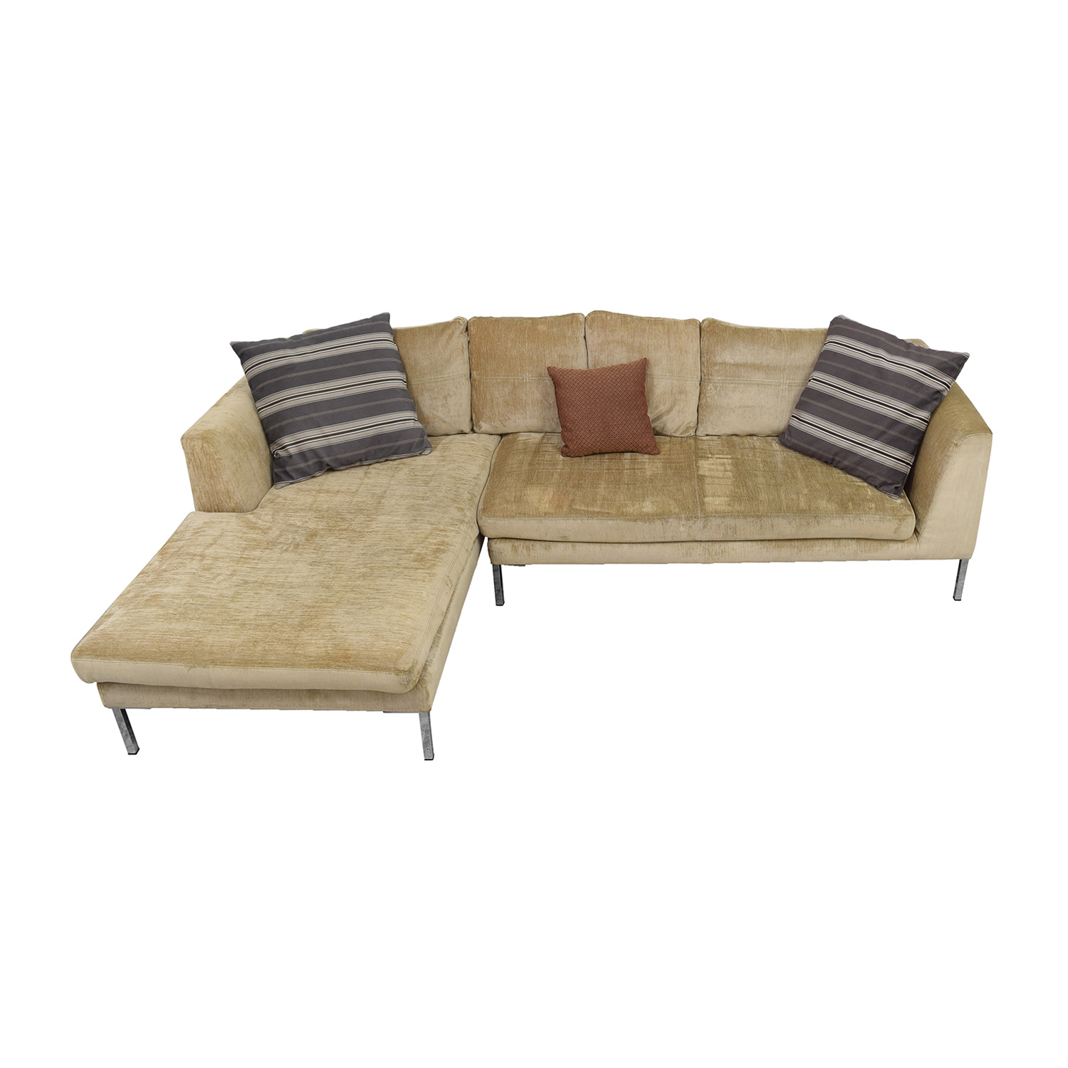 36% OFF Bernhardt Bernhardt Grey Sectional Sofas