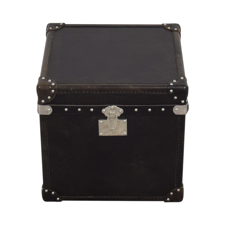 buy Restoration Hardware Restoration Hardware Steamer Trunk Cube online