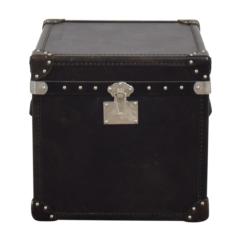 buy Restoration Hardware Steamer Trunk Cube Restoration Hardware Storage