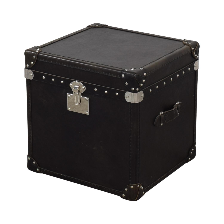 Restoration Hardware Restoration Hardware Steamer Trunk Cube price
