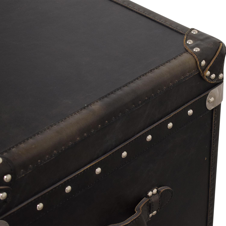 shop Restoration Hardware Steamer Trunk Cube Restoration Hardware