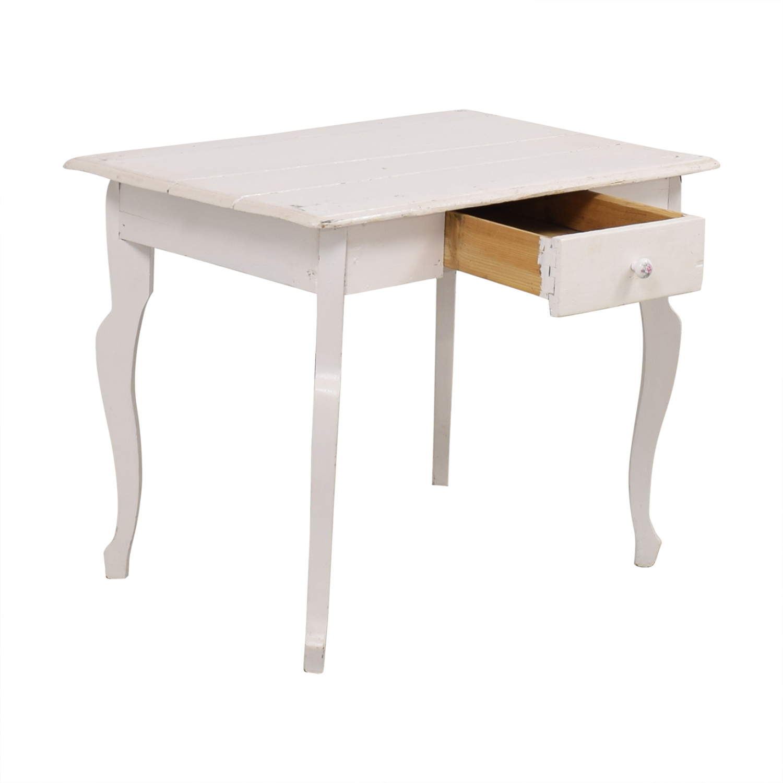Anthropologie Anthropologie Single Drawer Writing Desk on sale