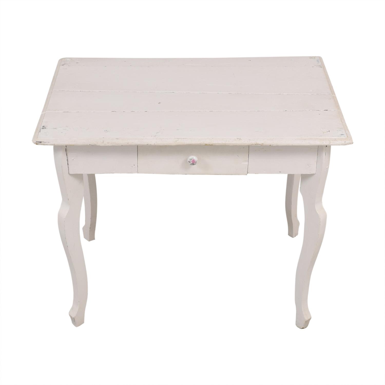 shop Anthropologie Single Drawer Writing Desk Anthropologie Tables
