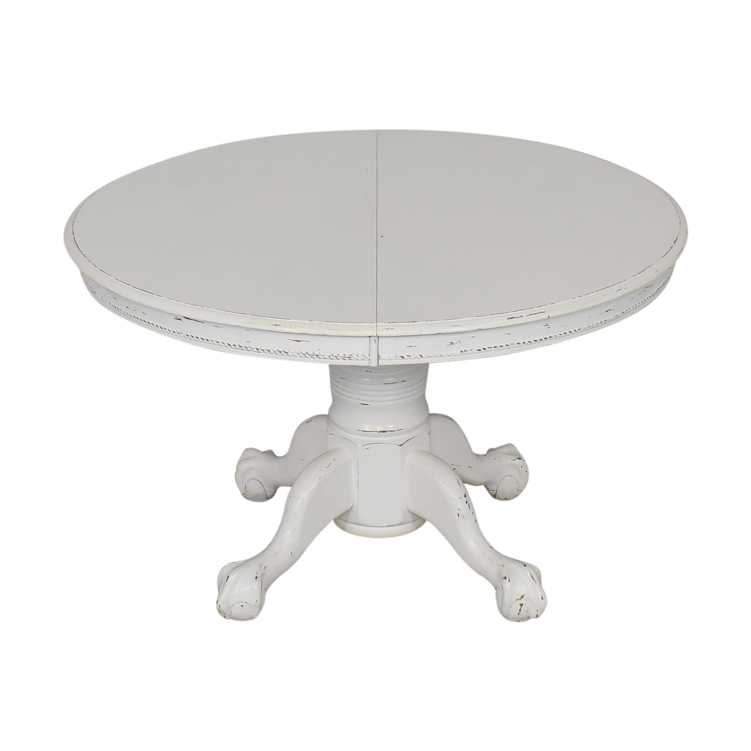 75 Off Farmhouse White Round Dining Table Tables
