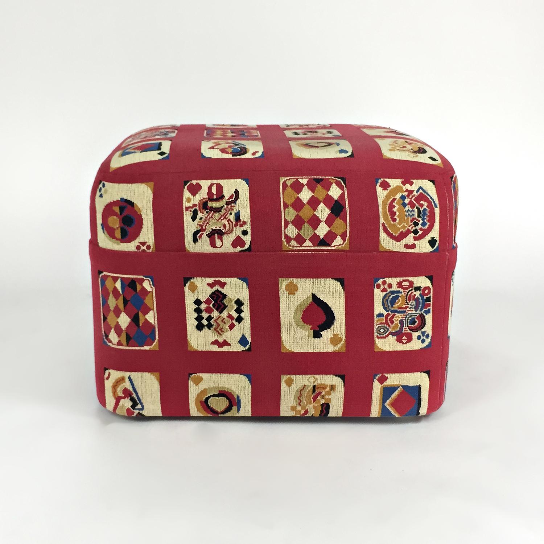 buy Custom Custom Made Designer Ottoman Cube online