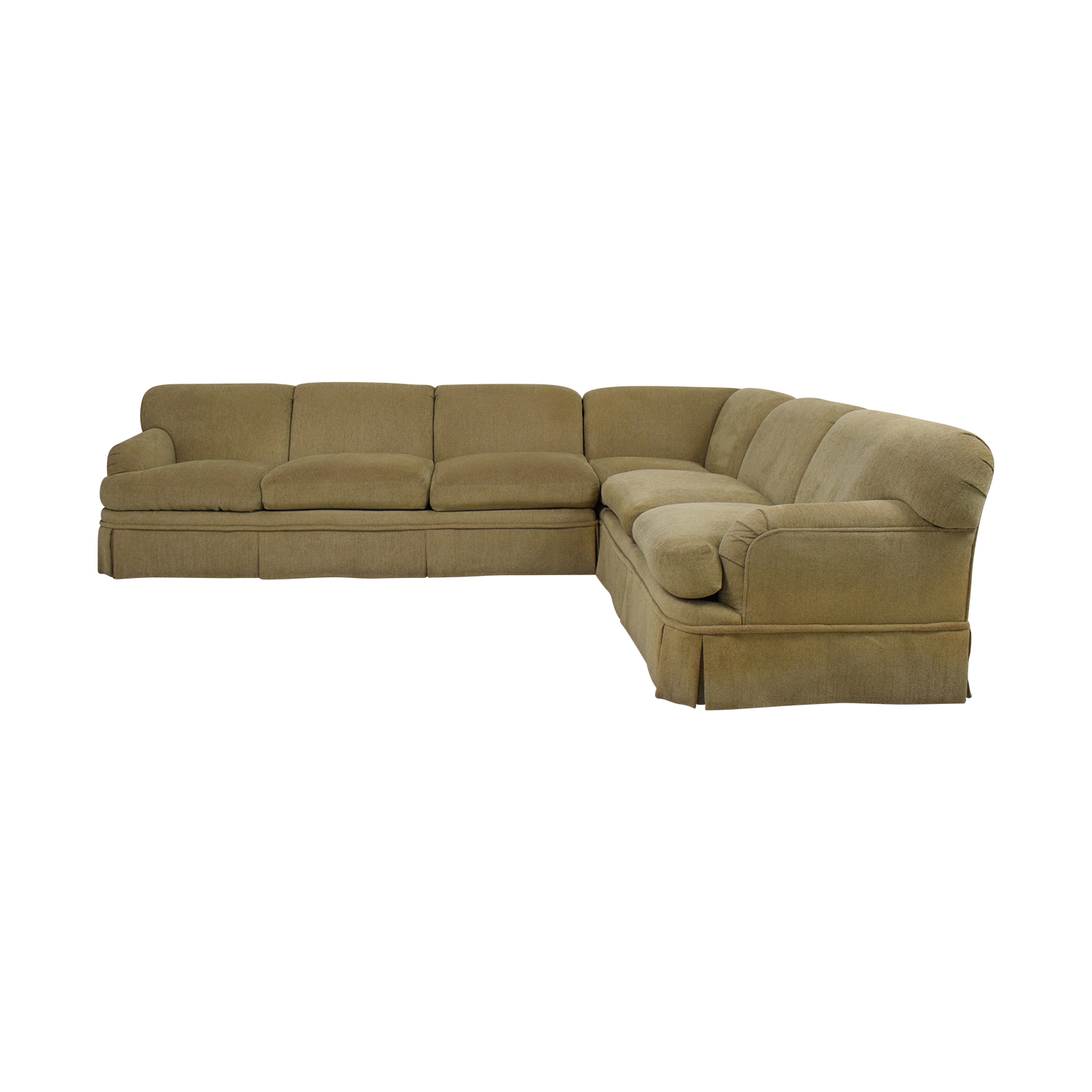 Swaim Swaim Reflex Rolled Arm Sectional Sofa used