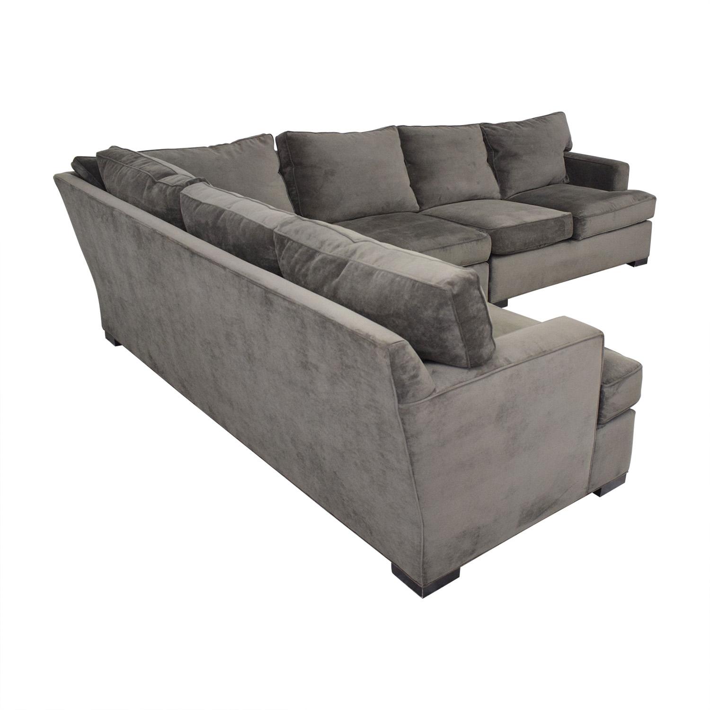 71% OFF - Arhaus Arhaus Dune Sectional Sofa / Sofas