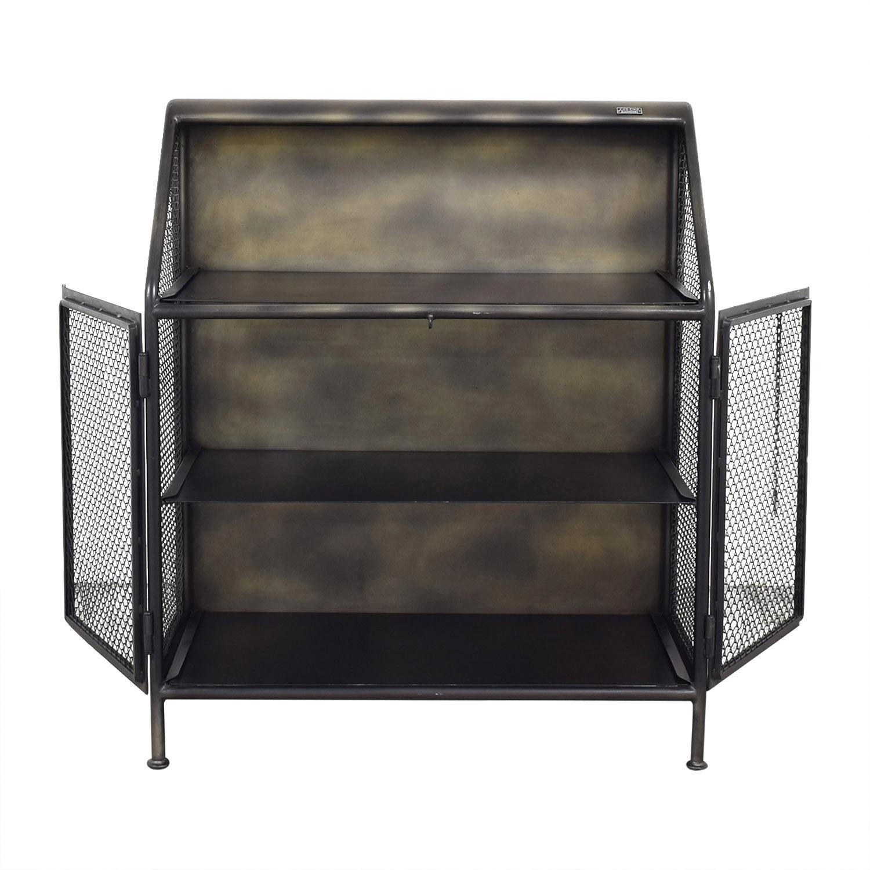 shop Restoration Hardware Vintage French Factory Bar Cart Restoration Hardware Utility Tables