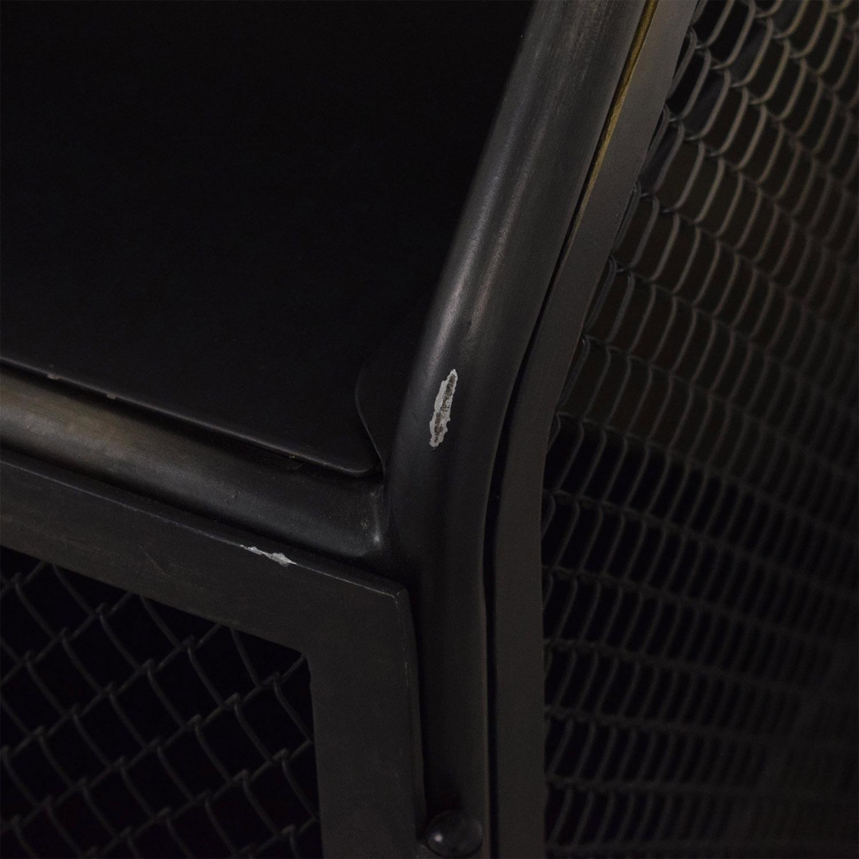 Restoration Hardware Vintage French Factory Bar Cart / Utility Tables