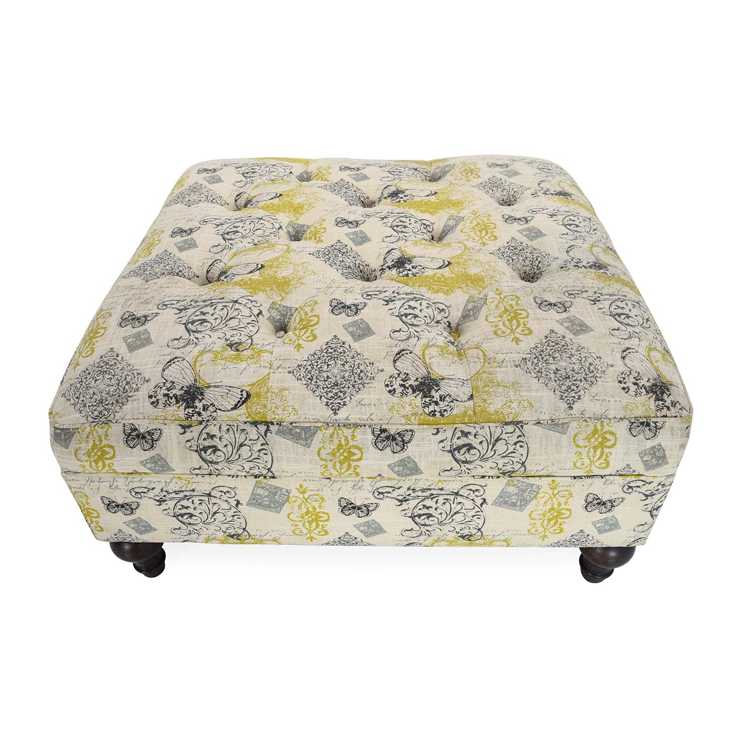 Hindell Park Putty Accent Ottoman Ashley Furniture