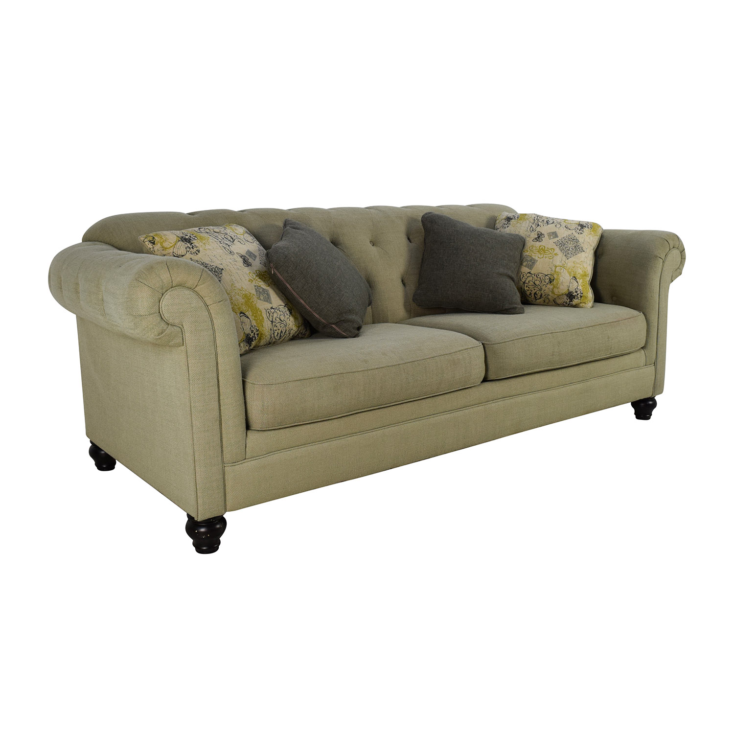 76 Off Ashley Furniture Ashley Furniture Hindell Park Putty Sofa Sofas