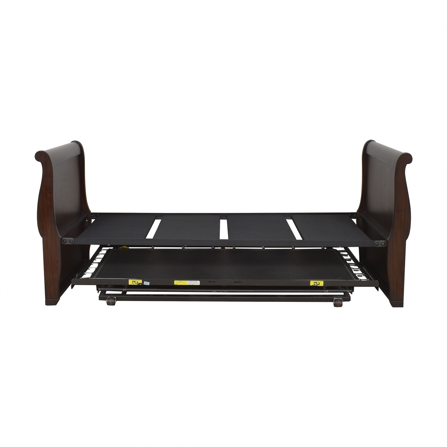 Charles P. Rogers Charles P Rogers Mahogany Twin Daybed with Trundle dimensions