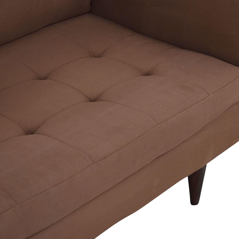 Crate & Barrel Crate & Barrel Two Cushion Sofa used
