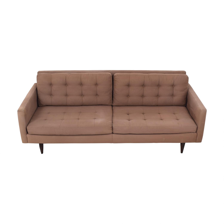 Crate & Barrel Crate & Barrel Two Cushion Sofa price