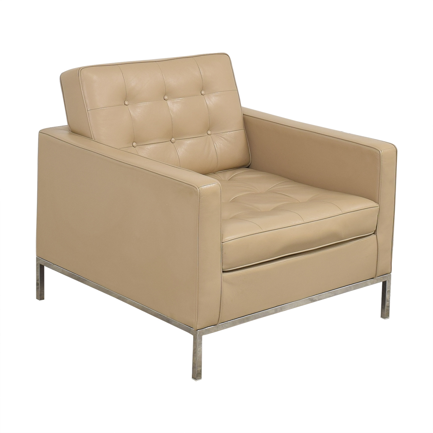 Inmod Inmod Florence Knoll Reproduction Leather Arm Chair coupon