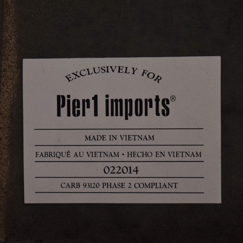 Pier 1 Pier1 Import Drop-Leaf  Dining Table discount