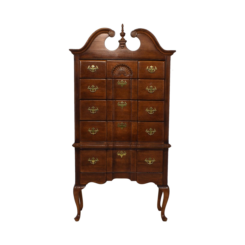Antique Highboy Dresser / Storage