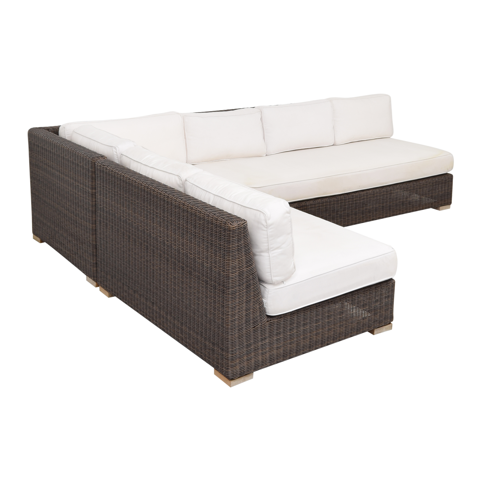 Restoration Hardware Biscayne Classic Outdoor Sectional / Sofas