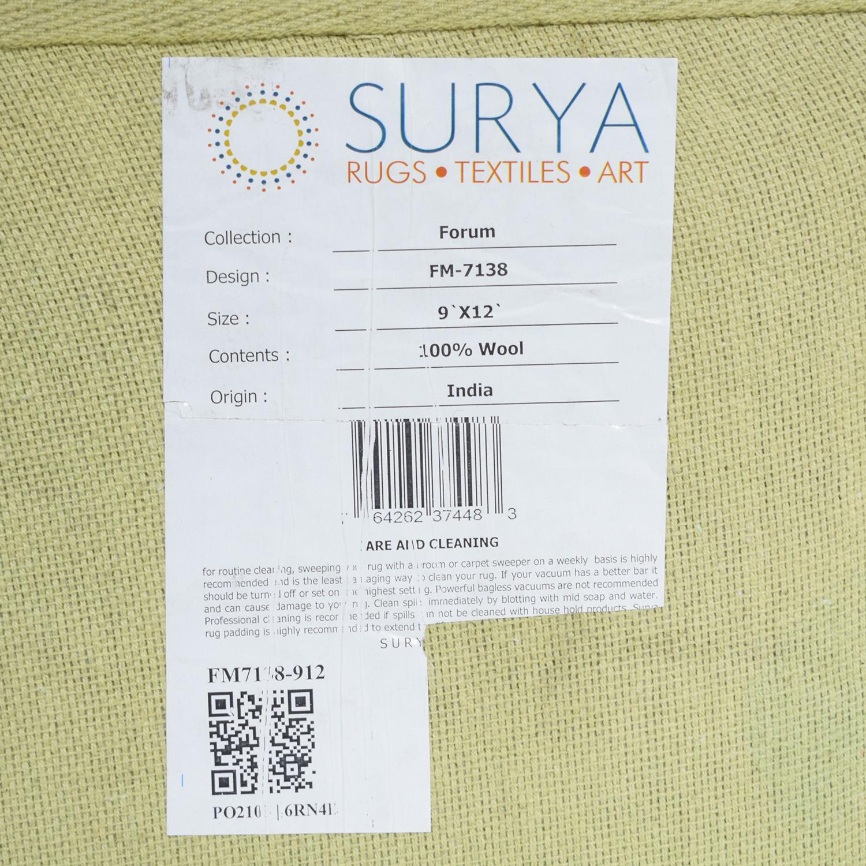 Surya Surya Forum Brown Area Rug Rugs
